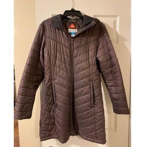 Columbia Jackets & Coats - Purple Columbia omni heat coat